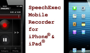 Philips SpeechExec Mobile for iPhone® & iPad®