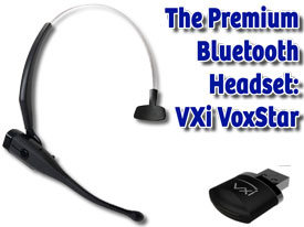 Voxstar headset and USB dongle