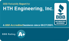 HTH Engineering is a BBB ranked A+ business