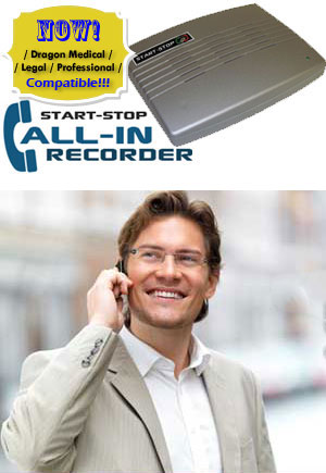 Start-Stop Call-In Recorder