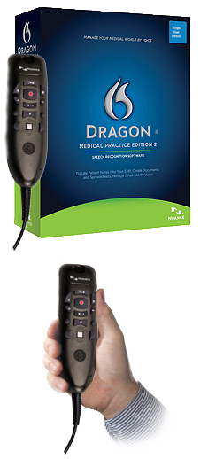 Dragon Medical Practice 2.3 with PowerMic II and Dragon Veterinary