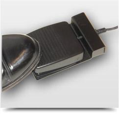 Drag'N Mute foot pedal