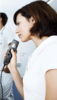 Nurse with Philips LFH-3500