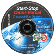 Start-Stop OmniVersal Transcription System – Software CD Only Model #41486