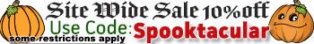 Spooktacular Sale 2016 Coupon Code: Spooktacular