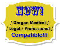 Start-Stop Call-In Recorder is now Compatible with Dragon Medical Practice Edition, Dragon Legal, and Dragon Professional!