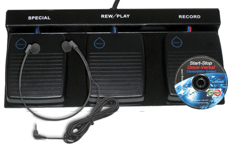DAC Waterproof 3-Pedal