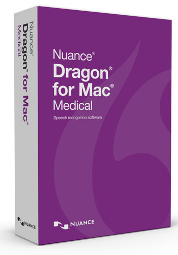 Picture of Dragon for Mac Medical Version 5
