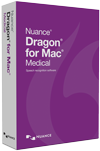 Dragon Medical for Mac v5 box