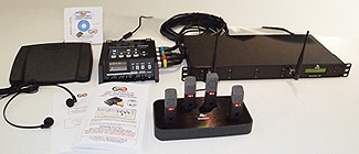 Start-Stop™ Secure WIRELESS 4-Channel Conference Recording/Transcription System