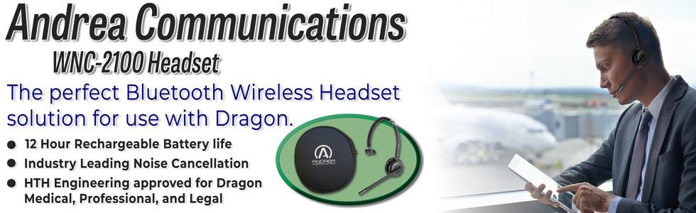 Andrea Communications WNC-2100 Bluetooth Headset.