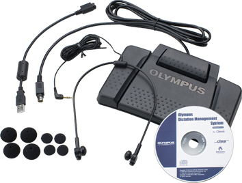 Olympus AS-7000 complete package contents