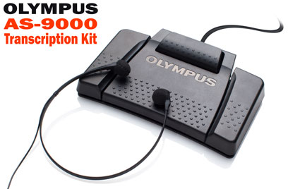 Olympus AS-9000 complete package contents