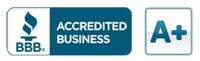BBB Accredited Business graphic
