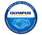 Certified Olympus Professional Audio Dealer