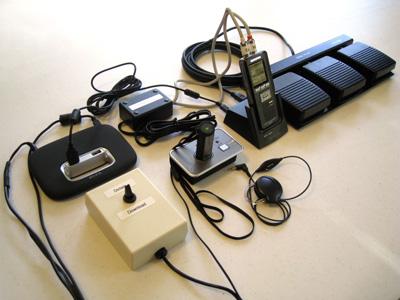Start-Stop™ Ultra HandsFree Wireless Digital Dictation System