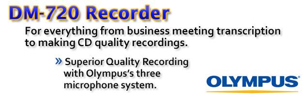 Olympus DM-720 Tresmic Conference Recorder