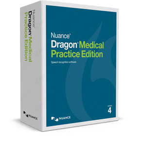 Dragon Medical Practice Edition 4 Upgrade box