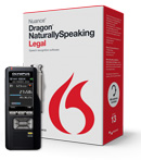 Bundle: Dragon NaturallySpeaking Legal 13 + Olympus DS-7000 Dictation Recorder