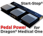 Start-Stop Pedal Power For Dragon Medical One