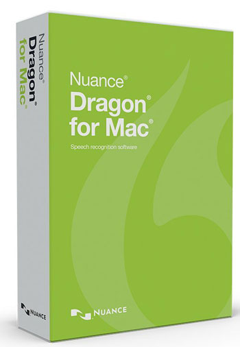 Picture of Nuance Dragon for Mac Version 5