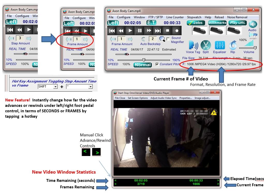 Start-Stop OmniVersal Audio/Video/DVD Transcription System