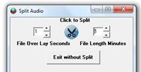 Start-Stop Omniversal Click to Spilt Audio Graphic