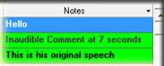 New Notes Column