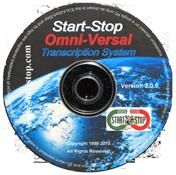 Start-Stop OmniVersal Transcription System – Software CD Only Model #41486