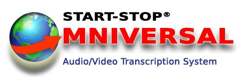 Start-Stop® OMNIVERSAL Audio/Video/DVD Transcription System Logo