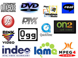 Some of the supported Omniversal video formats