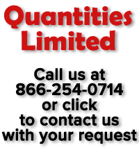 Quantities limited