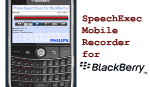 Philips LFH7455 SpeechExec Mobile for iPhone