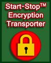 Start-Stop Encryption Transporter art