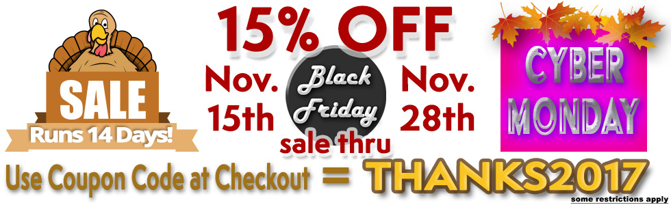 Huge 14 Day Sale Site Wide at StartStop.com Nov 15th through 28th, midnight