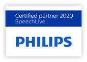 Philips SpeechLive Certified Partner 2020